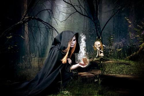 Девушки ведьмы фэнтези картинки