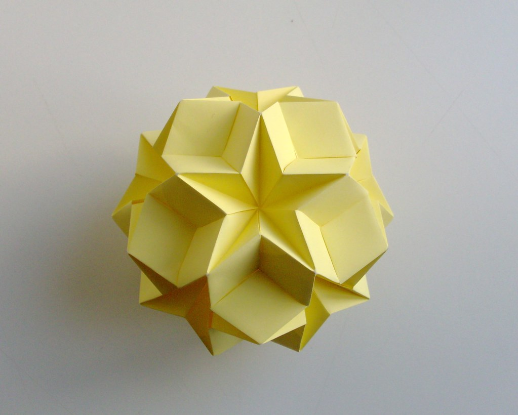 kusudama spike ball instructions