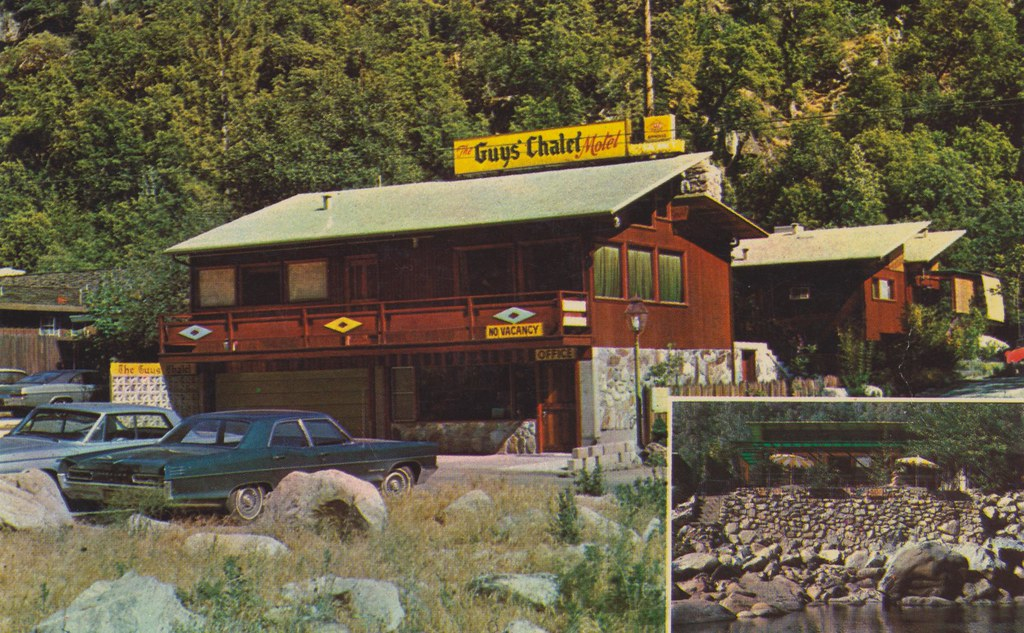 The Guys' Chalet Motel - El Portal, California
