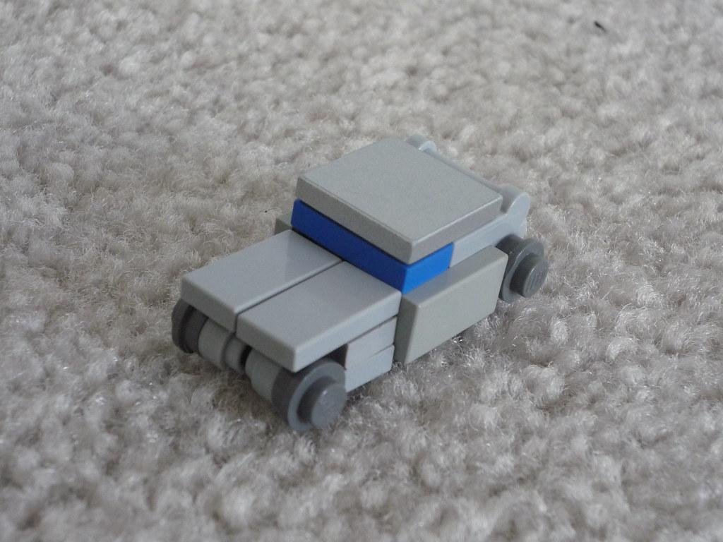 how to make a mini lego fish