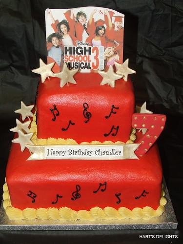 High School Musical Birthday Cake