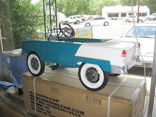 New Cars Com >> '55 Chevy pedal car | They told me that if I paid them the ...