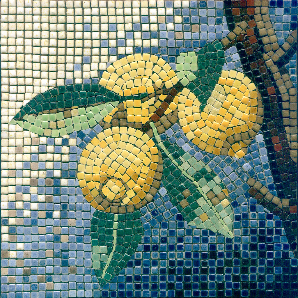 Lemon Citron Alea Mosaic Com Mosaic 20x20cm The Best