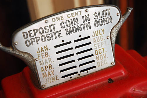 Deposit Coin In Slot Opposite Month Born | by Steve Snodgrass