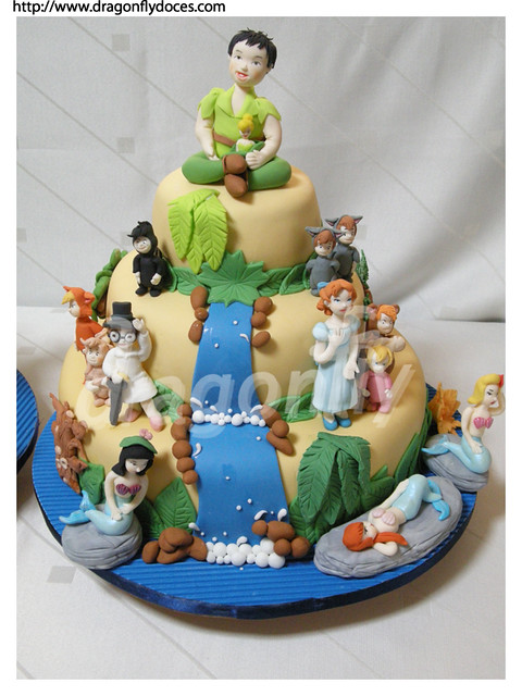 Peter Pan And Wendy Birthday Cakes