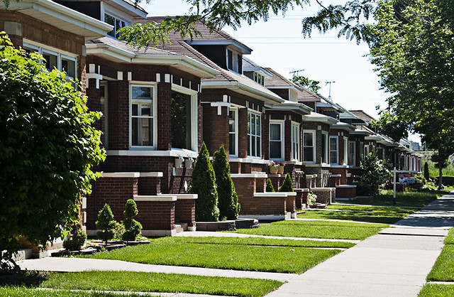 Bungalow Belt   Some of the houses on Chicago\'s Bungalow Bel…   Flickr