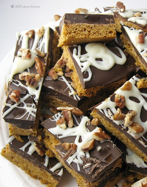 pumpkin cookie bark