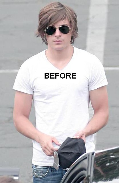 Zac Efron Long Hair Picture Dtodoblog Flickr