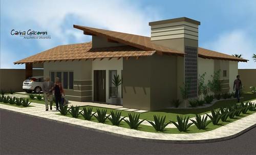 Resid ncia em camapu ms meu primeiro projeto para a for Modelos de casa para construccion