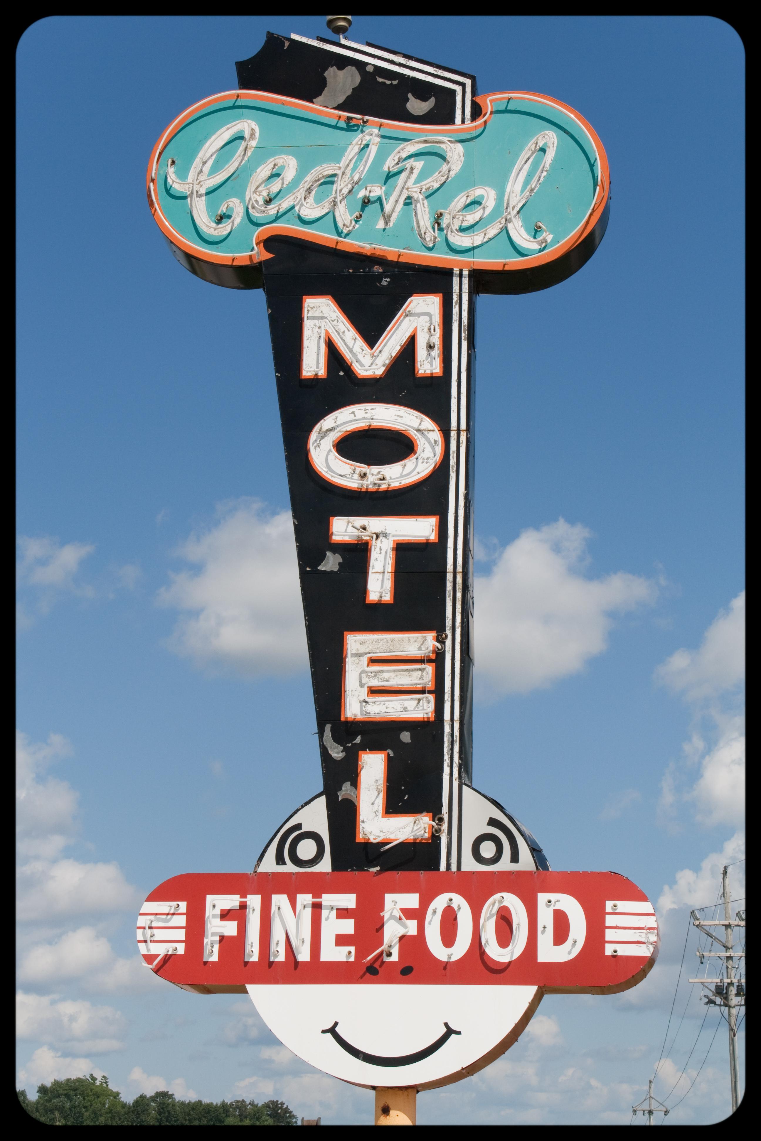 Ced-Rel Motel and Supper Club - 11901 U.S. 30, Cedar Rapids, Iowa U.S.A. - July 26, 2009