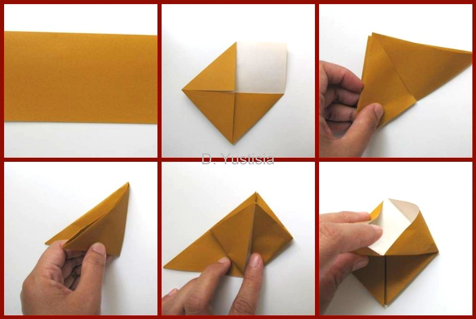 How To Make Origami Box Sanbo A Emaurian Flickr