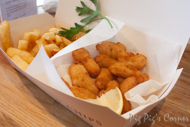 Rick stein fish and chips 08 restaurant review here for Rick s fish and pet