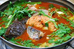 Fish head hot pot | by MelindaChan ^..^