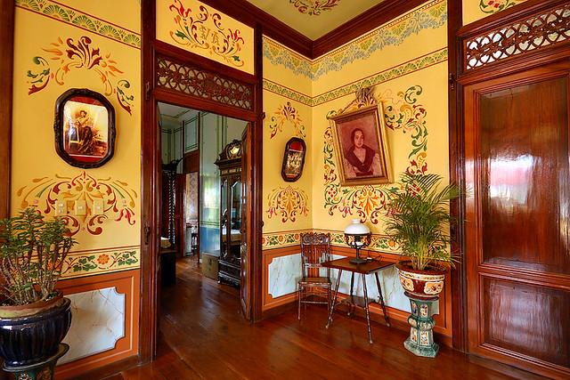 Walls With Art Nouveau Decorations Villavicencio House