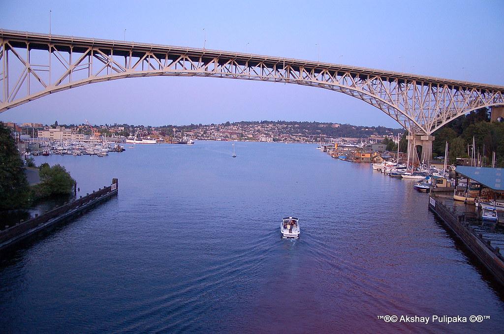 George Washington Bridge >> Aurora Bridge on Lake Union, Seattle, WA | en.wikipedia.org/… | Flickr