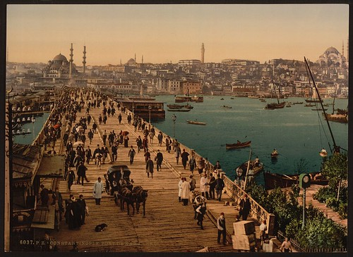[Kara-Keui (Galata) bridge, Constantinople, Turkey] (LOC) | by The Library of Congress