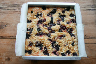 Lemon Blueberry Buckle | by Food Librarian