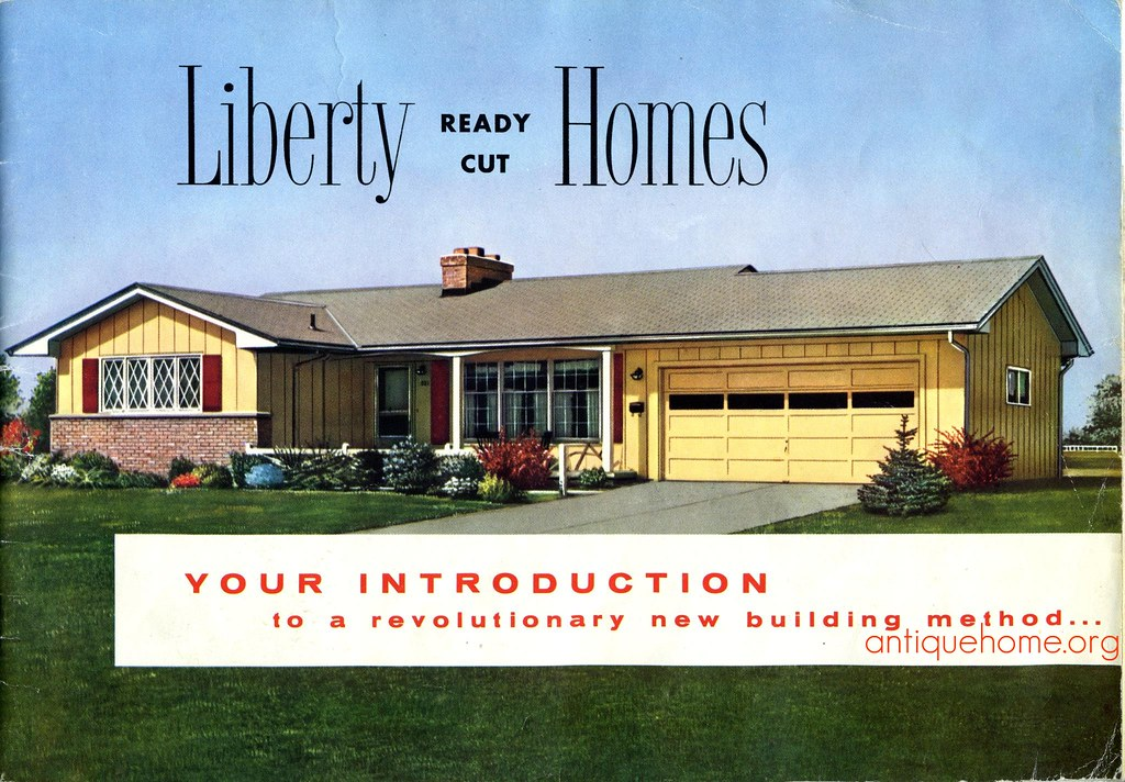 Liberty ready cut homes liberty kit homes 1960 there 39 s for Liberty home builders