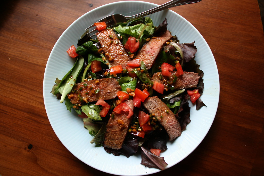 Ginger Steak Salad | Recipe from The Pioneer Woman here | Megan Myers ...