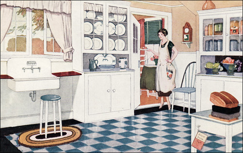 1925 Kitchen Ad For Valspar Paint Quot Valspar Enamel