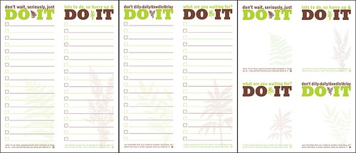 Preview of Printable DO IT list & note | by Co Design Shop