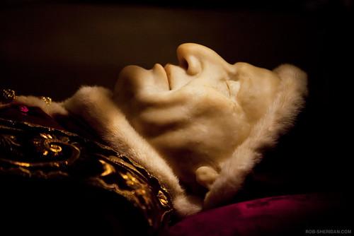 The preserved body of Pope John XXIII. Vatican City, Rome ...