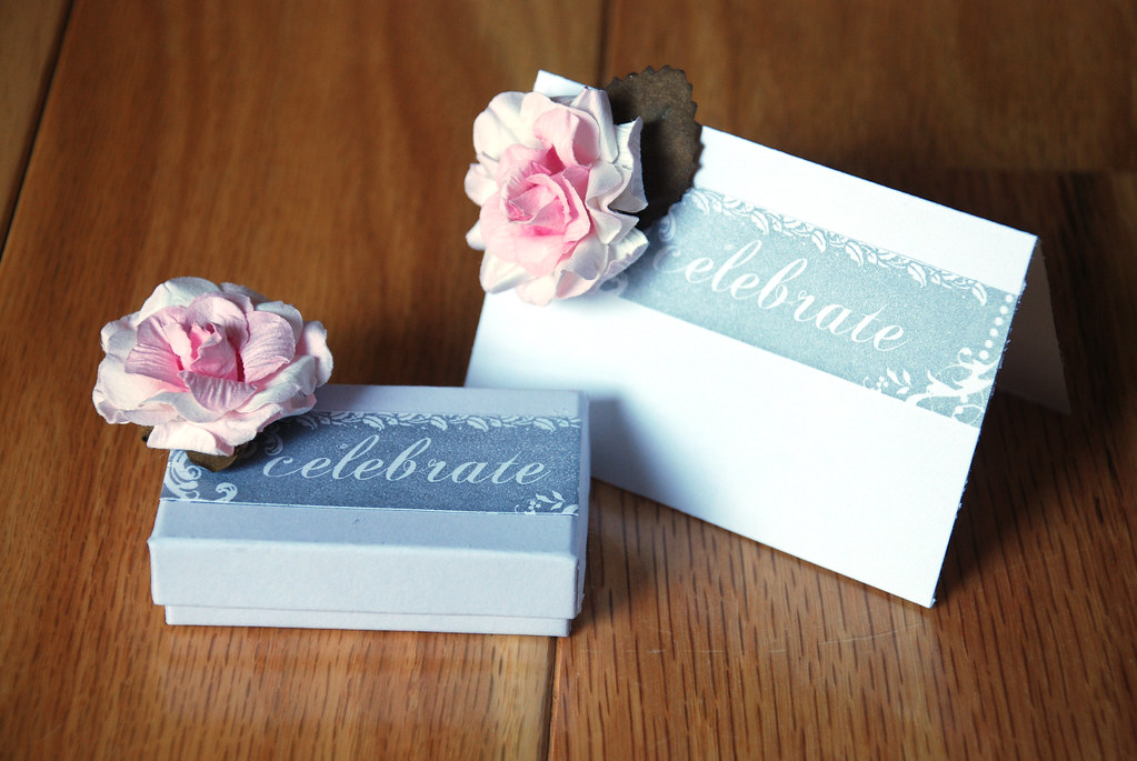 Wedding Gift Boxes Michaels : Celebrate Wedding Table Card and Gift Box Done for Hampton ...