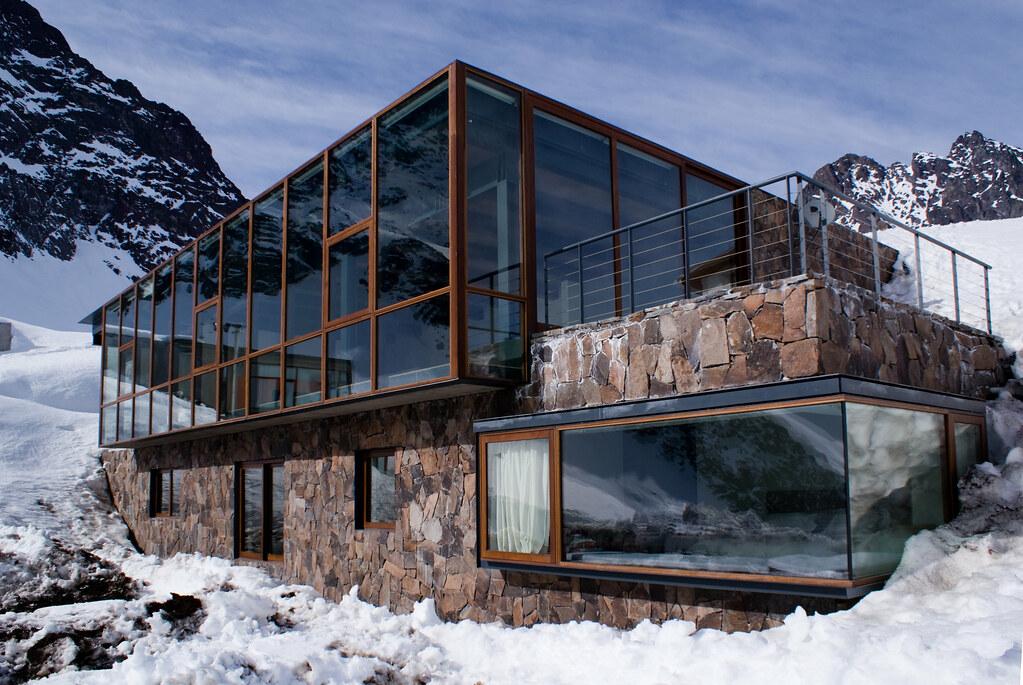 Drn arquitectos chalet c7 portillo chile fcamusd for Ski cabin rentals colorado