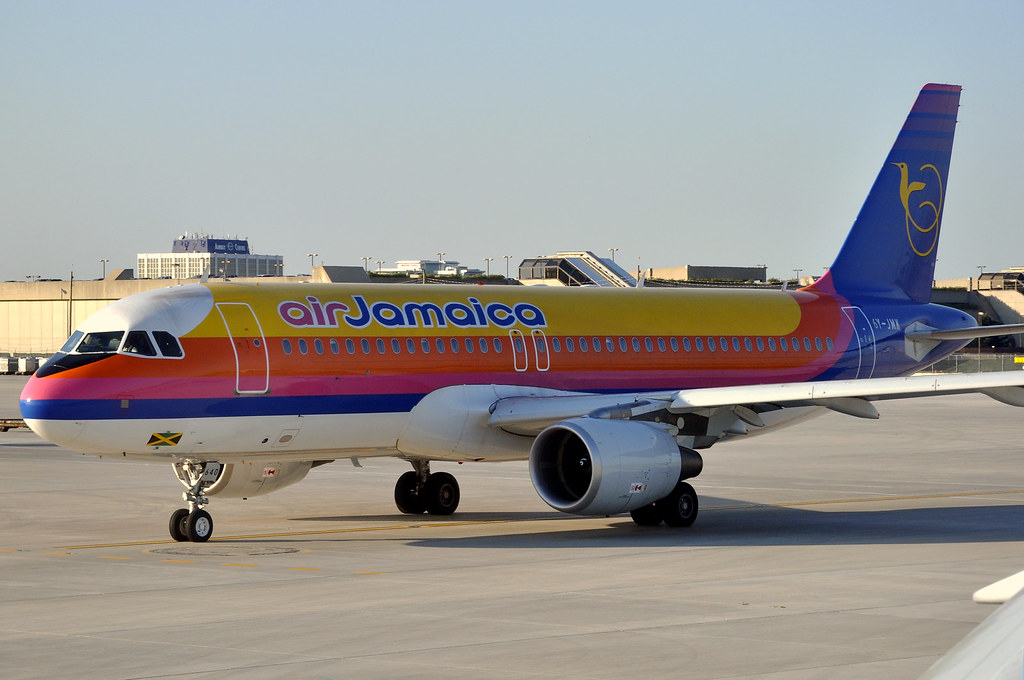 Air Jamaica A320-214 6Y-JMK | Wow.. what a range of airlines… | Flickr