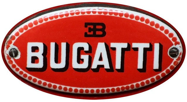 bugatti emblem on a 1914 bugatti racing car ella flickr