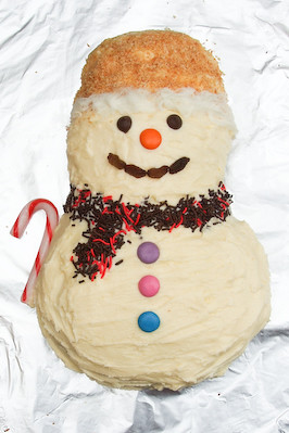 Coconut Snowman Citrus Cake | Flickr - Photo Sharing!