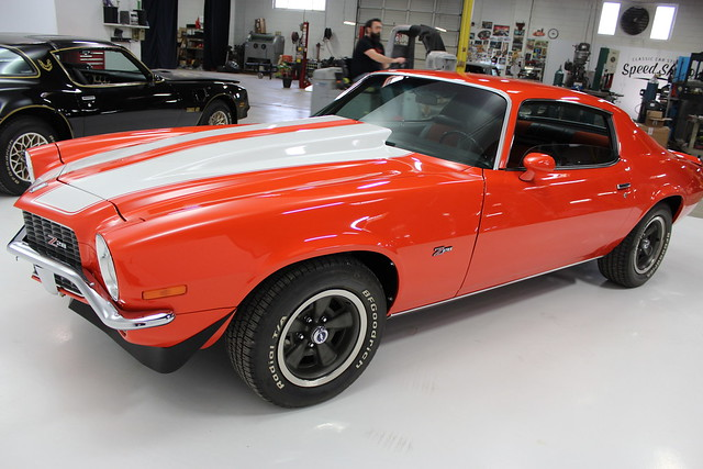 1970 Chevrolet Camaro Z28 Classic Car Inspection in Brentwood Mo