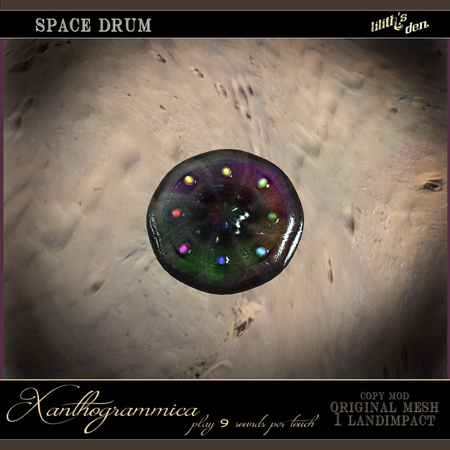 Hunt Gift - Lilith's Den Xanthogrammica Space Drum