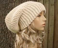 The Slouch Hat in Cream | by Pixiebell Elfinwear
