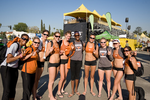 Texas Longhorn Volleyball Team Juliann Faucette