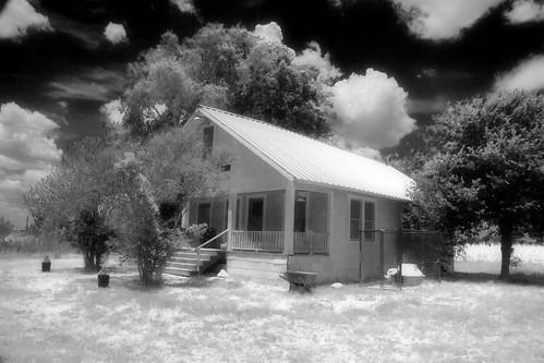 My Infrared House I Used The Program Black White Styler Flickr