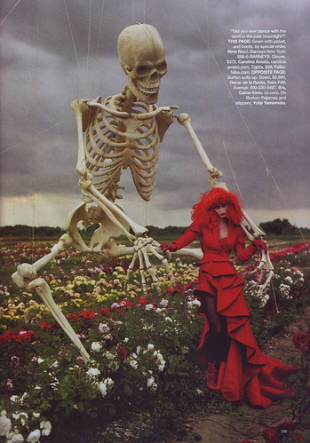 """Tim Burton's Tricks and Treaks"" by Tim Walker 