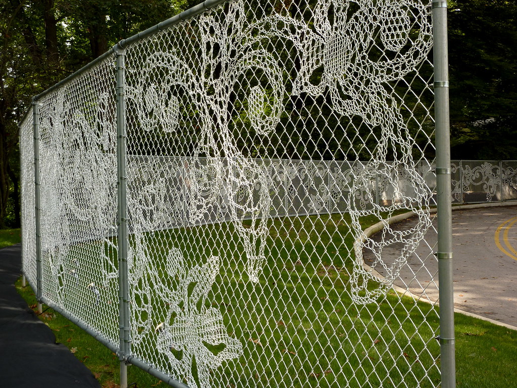 Lace Fence By Demakersvan Lace In Translation The