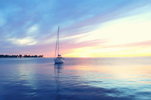 Sailboat Sunset | by neosmultimedia.com