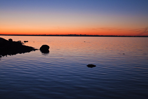 Sunset Across Narragansett Bay II | by Lach Franquemont