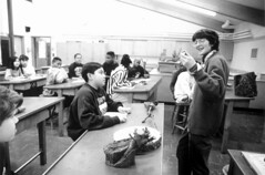 Teacher and students in classroom, circa 1990s | by Seattle Municipal Archives