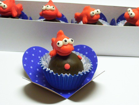 Blinky 3 eyed orange fish the simpsons truffles all for Blinky the fish
