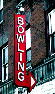 Bowling Sign | by Professor Bop