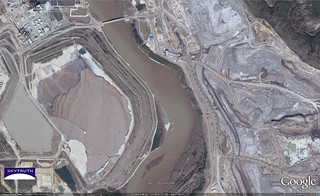 Athabasca Tar Sands Detail - Athabasca River, May 2005 | by SkyTruth