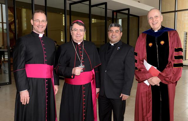 Papal Nuncio Visit 2/22/17