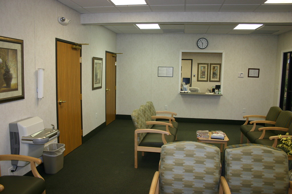 Modular Medical Clinic Waiting Room Rose Office Systems