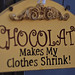 Chocolate sign #1