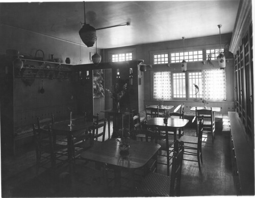 Interior of the Forest Home Inn, which was operated by Martha Van Rensselaer and ... | by Cornell University Library