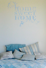 home sweet home wall sticker | by the style files