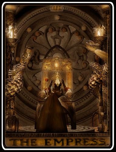 The Empress - Tarot Card | Location : Empire of Nod slurl ...